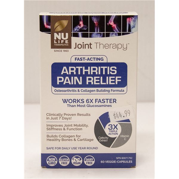 NU LIFE JOINT THERAPY FAST-ACTING ARTHRITIS PAIN