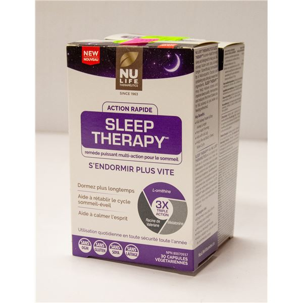 TWO BOXES OF NU LIFE SLEEP THERAPY POWERFUL MULTI