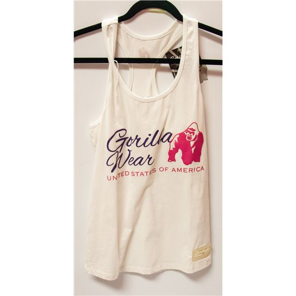 NEW GORILLAWEAR TOP SIZE SMALL RETAIL $39.99