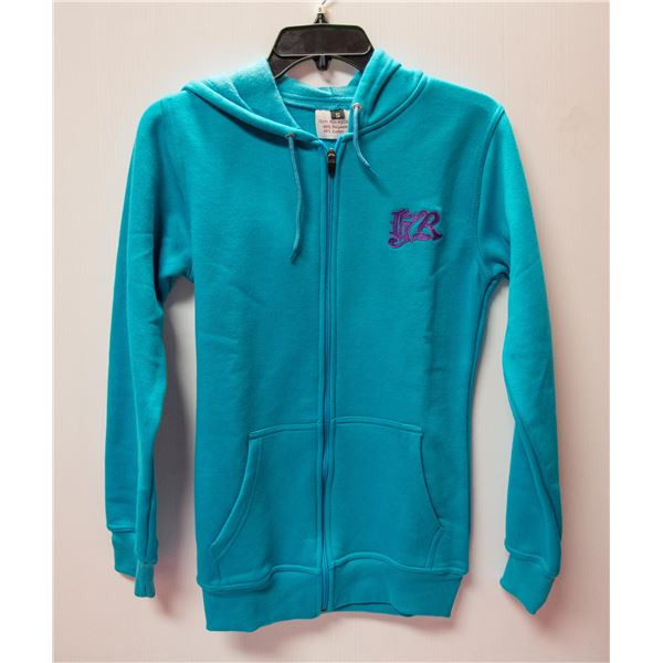 GYM RAT ZIP UP HOODIE SIZE SMALL