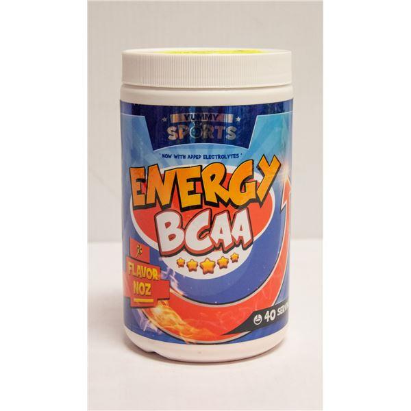 YUMMY SPORTS ENERGY BCAA NOZ FLAVOUR 280G