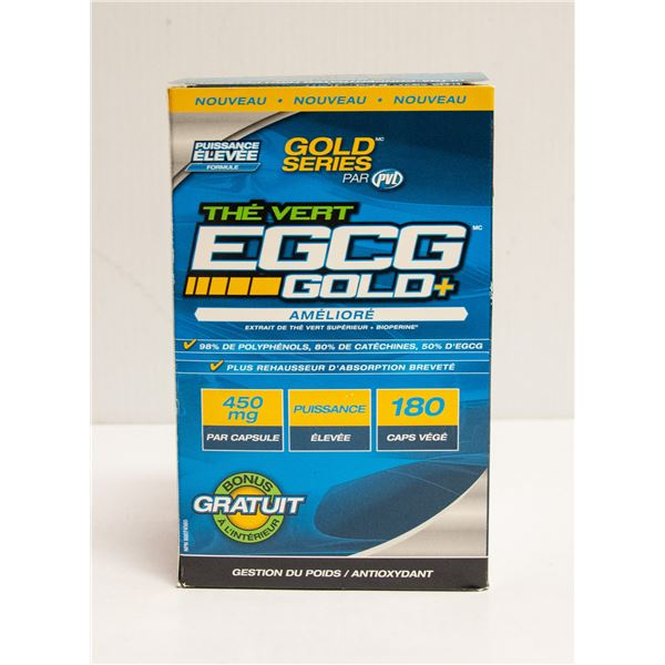EGCG GOLD+ ENHANCED PREMIUM GREEN TEA EXTRACT