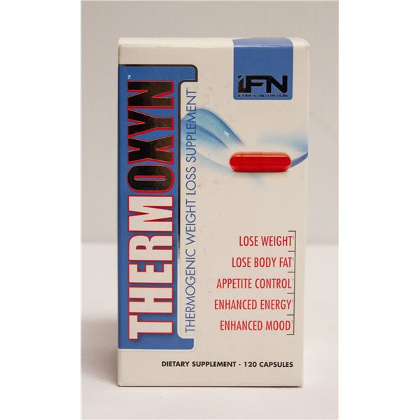 THERMOXYN THERMOGENIC WEIGHT LOSS SUPPLEMENT