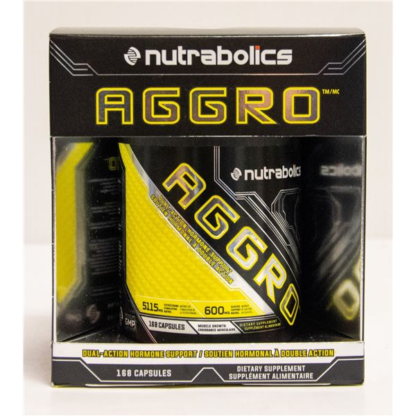 NUTRABOLICS AGGRO DUAL ACTION HORMONE SUPPORT