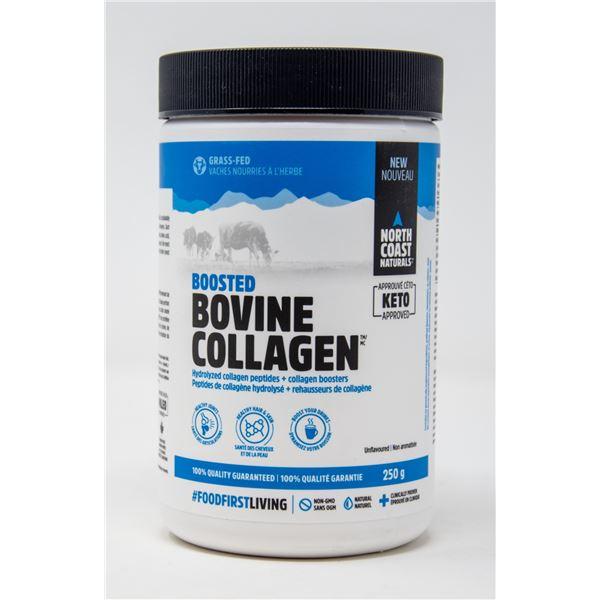 BOOSTED BOVINE COLLAGEN UNFLAVOURED 250G