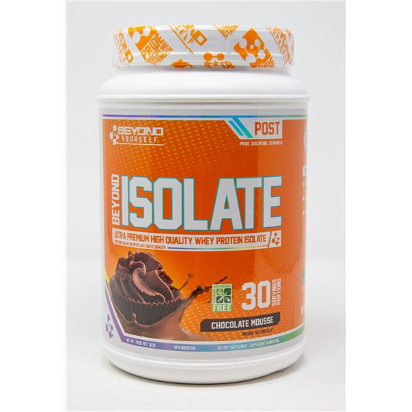 BEYOND ISOLATE ULTRA PREMIUM HIGH QUALITY WHEY