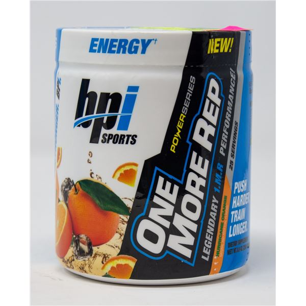 BPI SPORTS POWER SERIES ONE MORE REP PRE-WORKOUT