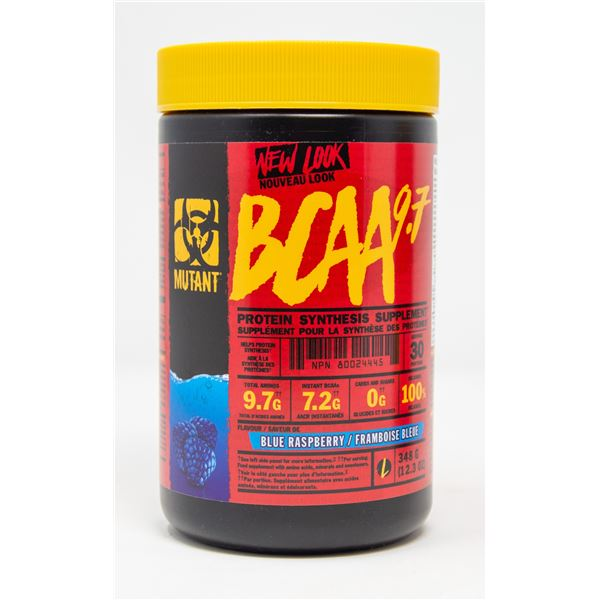 MUTANT BCAA 9.7 PROTEIN SYNTHESIS SUPPLEMENT BLUE