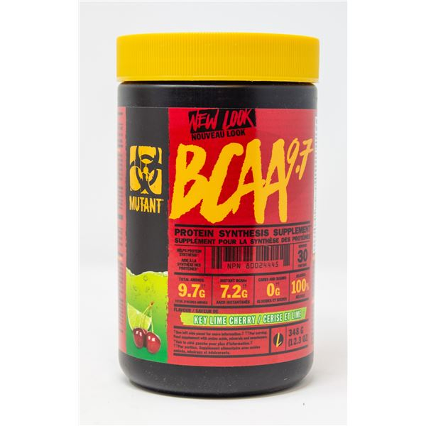 MUTANT BCAA 9.7 PROTEIN SYNTHESIS SUPPLEMENT
