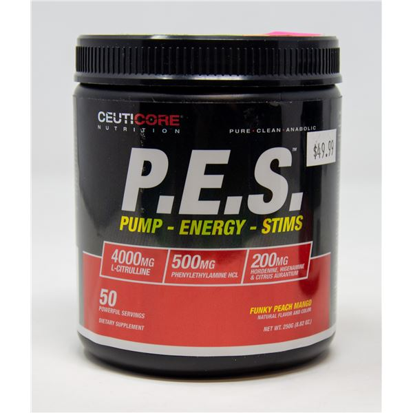 CEUTICORE P.E.S. PUMP-ENERGY-STIMS FUNKY PEACH