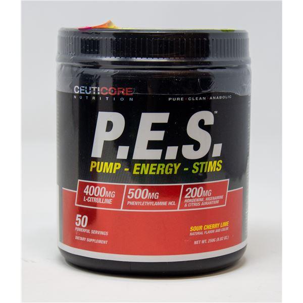 CEUTICORE P.E.S. PUMP-ENERGY-STIMS SOUR CHERRY