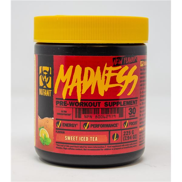 MUTANT MADNESS PRE-WORKOUT SUPPLEMENT SWEET