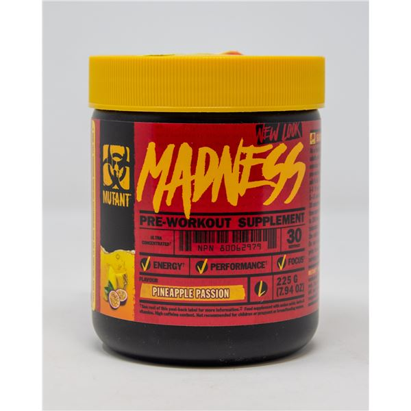 MUTANT MADNESS PRE-WORKOUT SUPPLEMENT PINEAPPLE