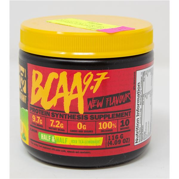 MUTANT BCAA 9.7 PROTEIN SYNTHESIS SUPPLEMENT HALF