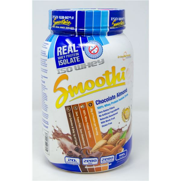 INTERACTIVE ISO WHEY SMOOTHIE 100% WHEY PROTEIN