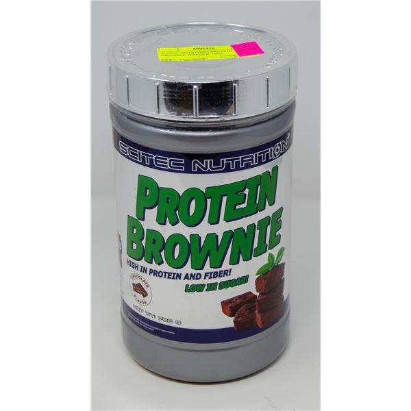 SCITEC NUTRITION PROTEIN BROWNIE POWDER 0.75KG