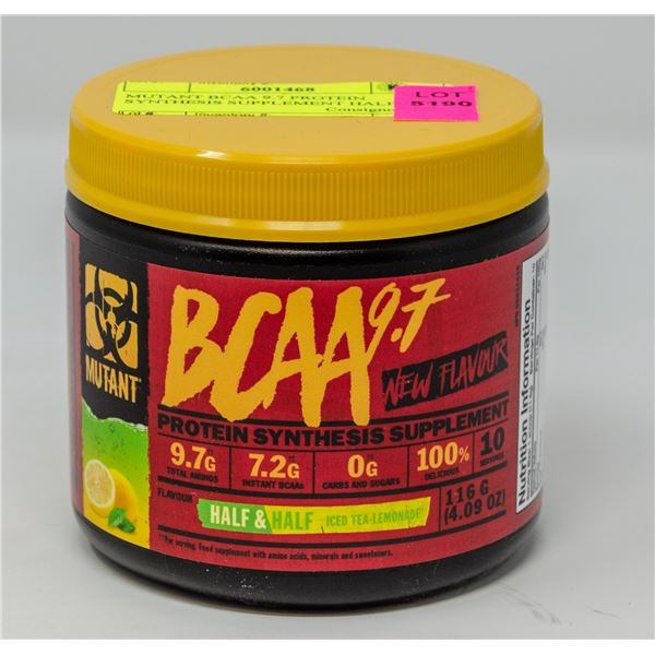 MUTANT BCAA 9.7 PROTEIN SYNTHESIS SUPPLEMENT 116G