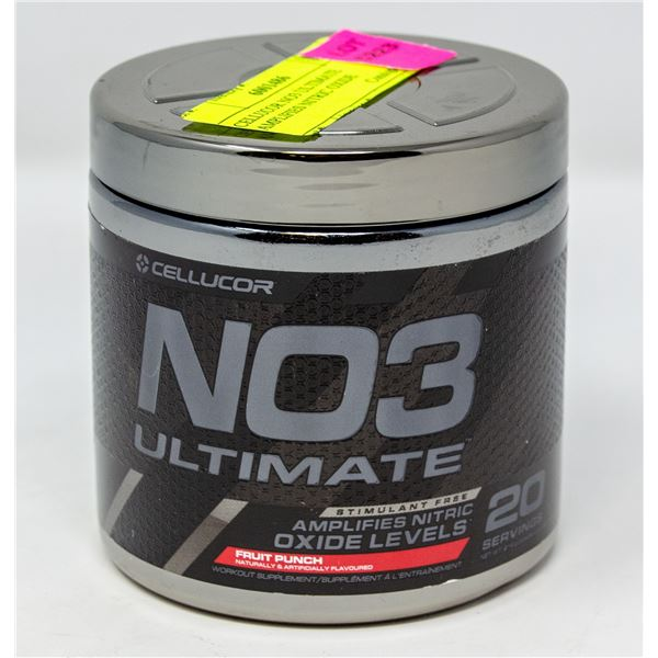 CELLUCOR NO3 ULTIMATE AMPLIFIES NITRIC OXIDE