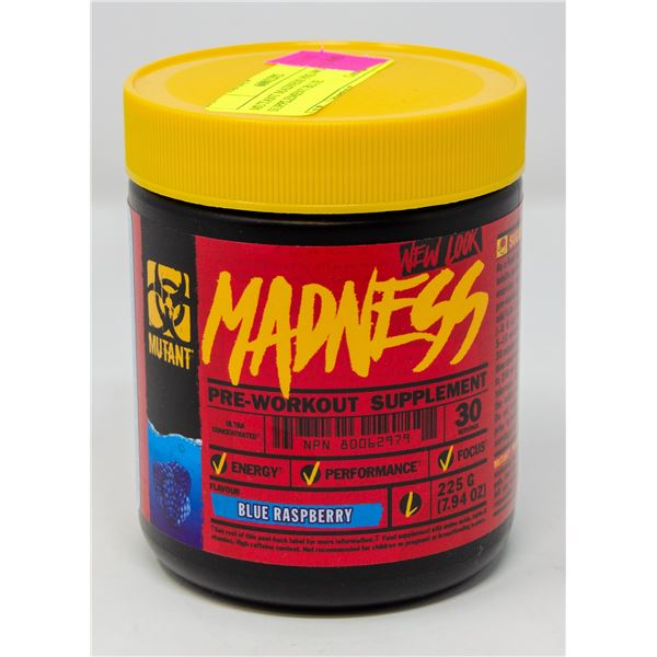 MUTANT MADNESS ULTRA CONCENTRATED PRE WORKOUT