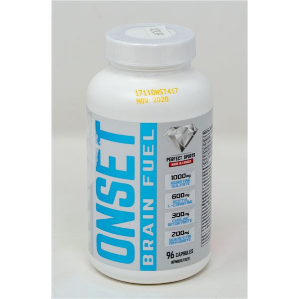 PERFECT SPORTS ONSET BRAIN FUEL 96 CAPSULES