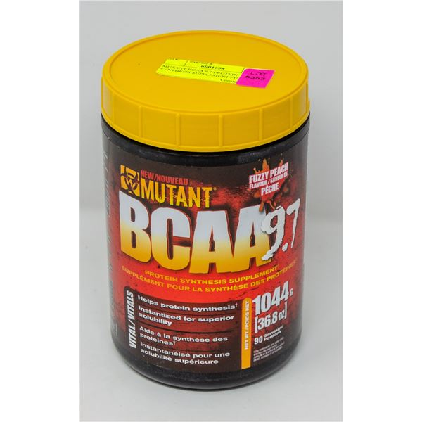MUTANT BCAA 9.7 PROTEIN SYNTHESIS SUPPLEMENT PEACH
