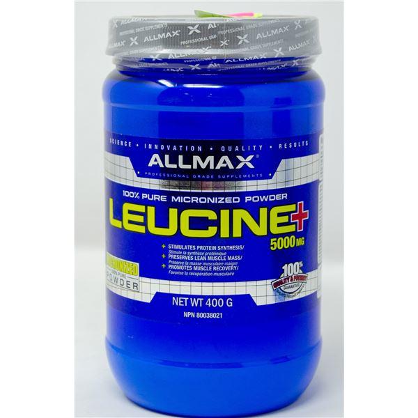 ALLMAX LEUCINE+ 5000MG 100% PURE MICRONIZED POWDER