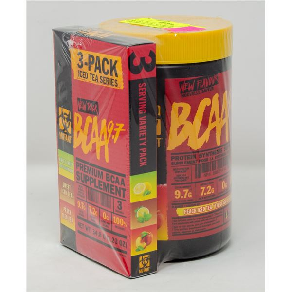 MUTANT BCAA 9.7 PROTEIN SYNTHESIS SUPPLEMENT KEY
