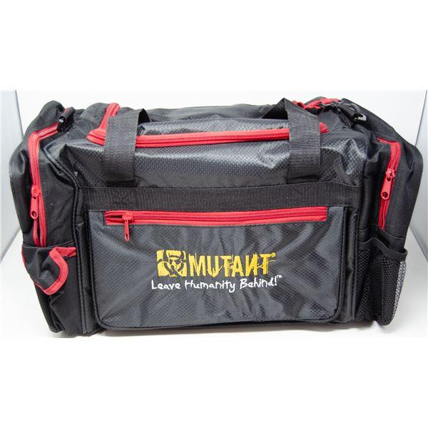 MUTANT GYM CARRY BAG BLACK/RED