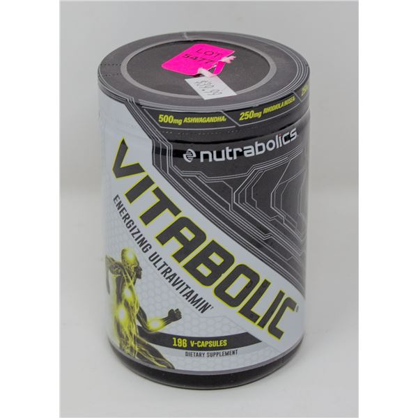 NUTRABOLICS VITABOLIC ENERGIZING ULTRAVITAMIN
