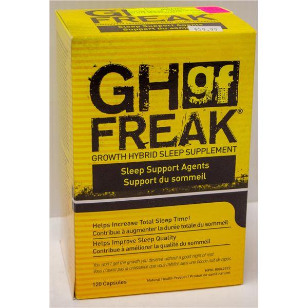 GH GF FREAK GROWTH HYBRID SLEEP SUPPLEMENT