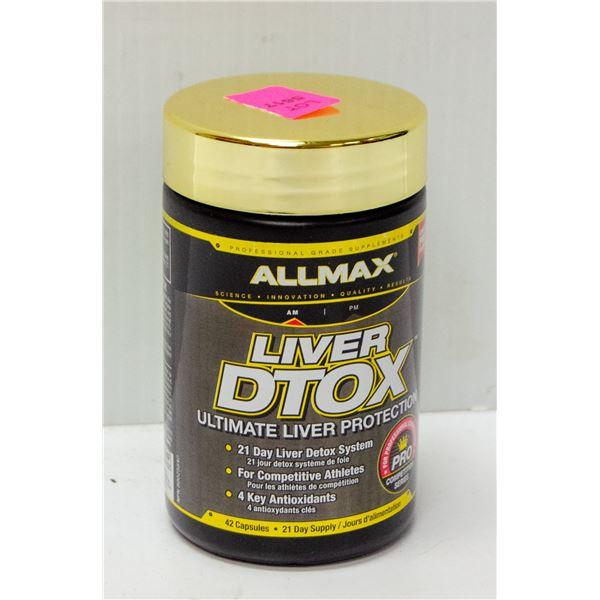 ALLMAX LIVER DETOX ULTIMATE LIVER PROTECTION