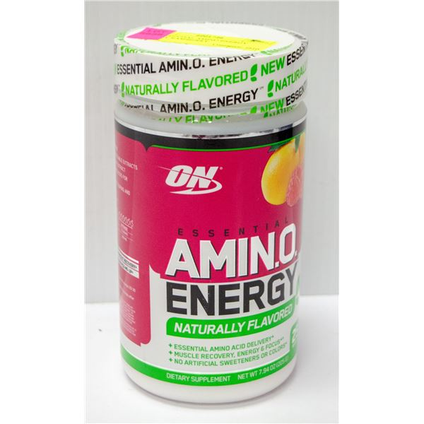 ON ESSENTIAL AMINO ENERGY SIMPLY RASPBERRY