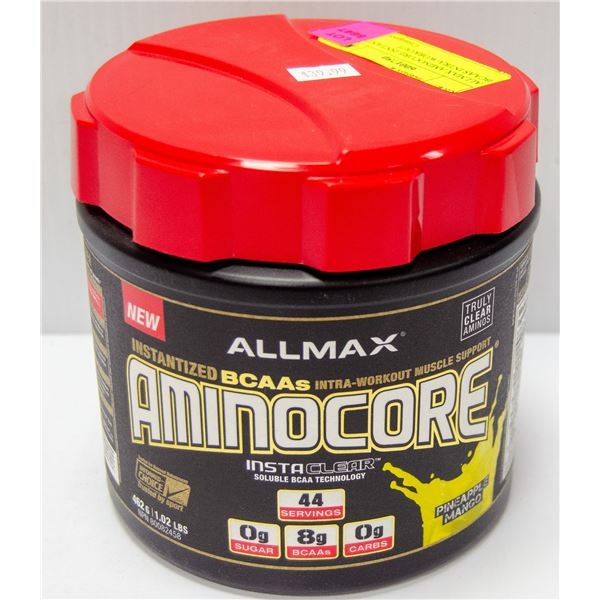 ALLMAX AMINOCORE ISNTANTIZED BCAAS INTRA-WORKOUT