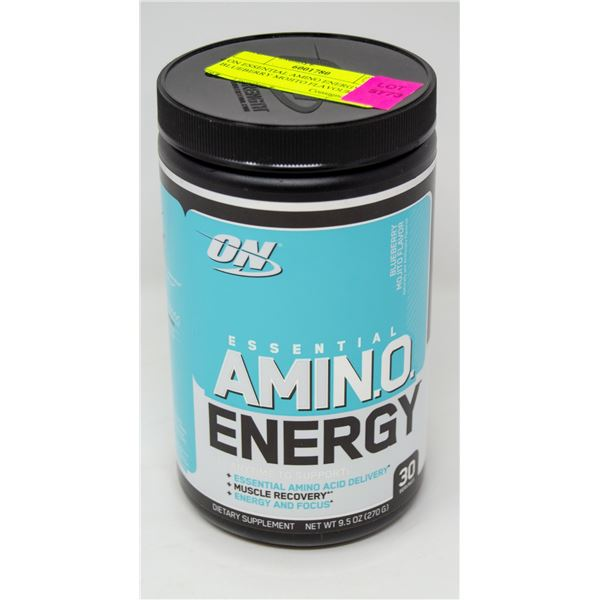 ON ESSENTIAL AMINO ENERGY BLUEBERRY MOJITO FLAVOUR