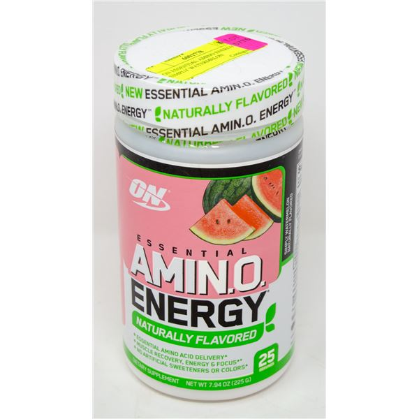 ON ESSENTIAL AMINO ENERGY SIMPLY WATERMELON