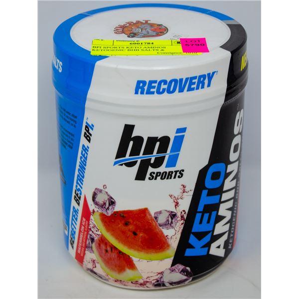 BPI SPORTS KETO AMINOS KETOGENIC BHB SALTS &