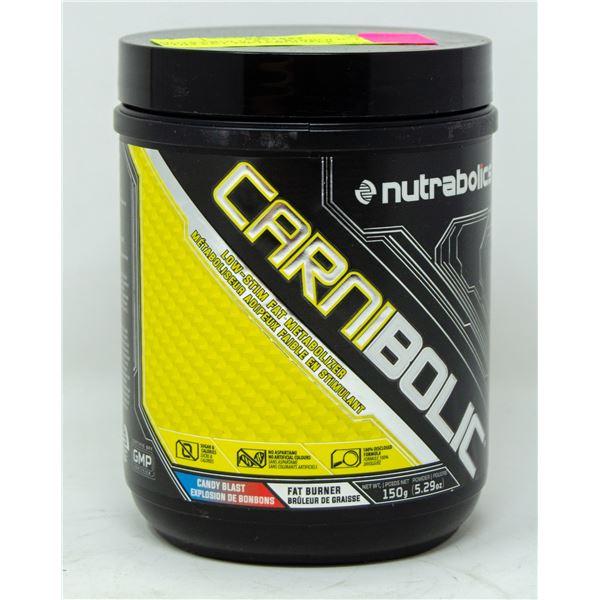 NUTRABOLICS CARNIBOLIC LOW STIM FAT-METABOLIZER