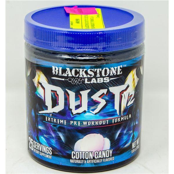 BLACKSTONE DUSTV2 EXTREME PRE-WORKOUT FORMULA