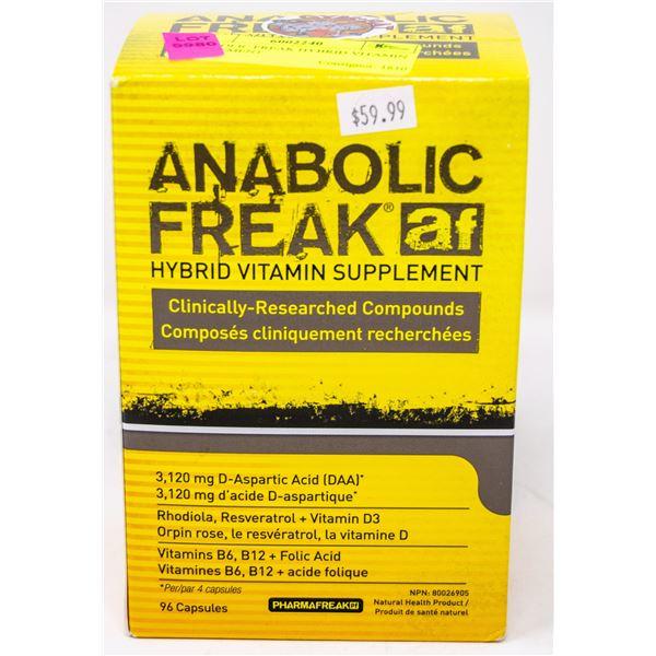ANABOLIC FREAK HYBRID VITAMIN SUPPLEMENT