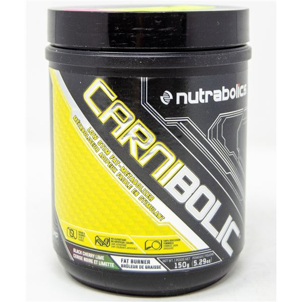 NUTRABOLICS CARNIBOLIC LOW-STIM FAT METABOLIZER