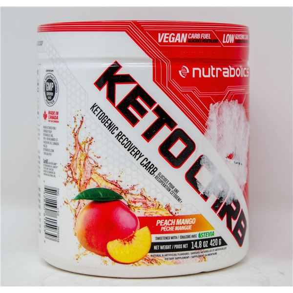 NUTRABOLICS KETOCARB KETOGENIC RECOVERY CARB