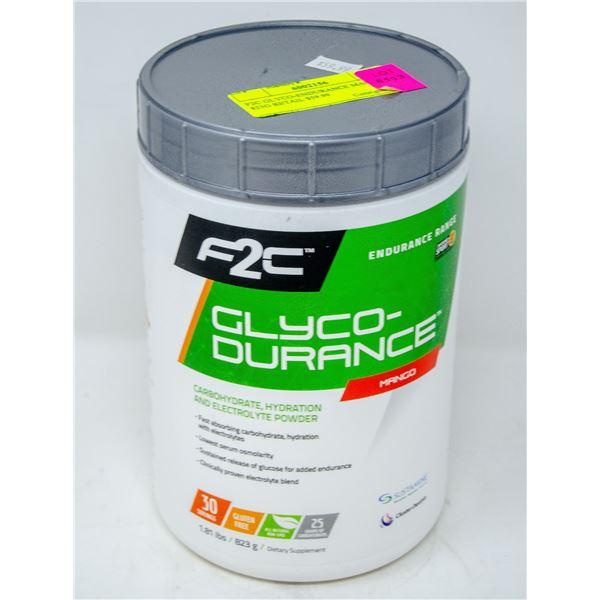 F2C GLYCO-ENDURANCE MANGO 823G RETAIL $59.99