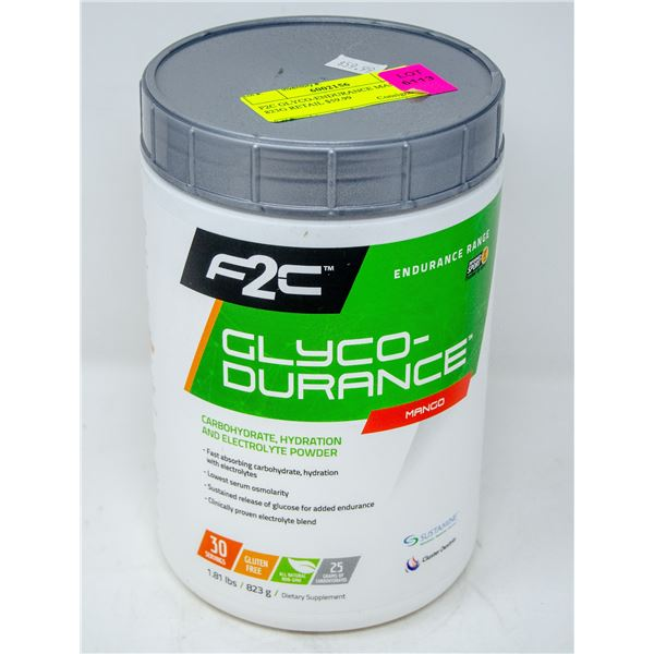 F2C GLYCO-ENDURANCE STRAWBERRY KIWI 843G