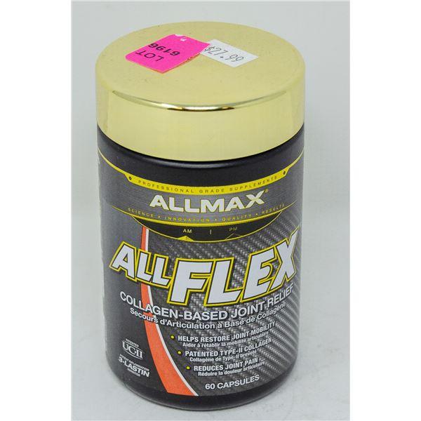 ALLMAX ALL FLEX COLLAGEN-BASED JOINT RELIEF