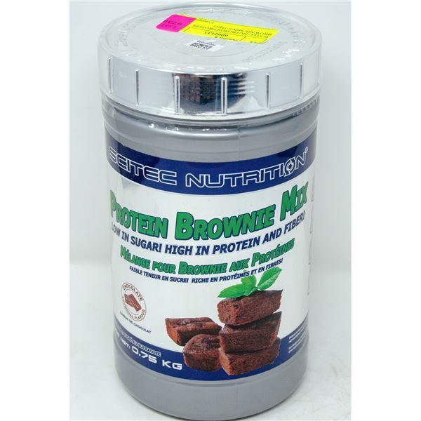 SCITEC NUTRITION PROTEIN BROWNIE MIX 0.75KG