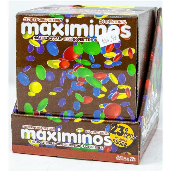 MAX PROTEIN MAXIMINOS CRUNCHY CHOCO BUTTONS