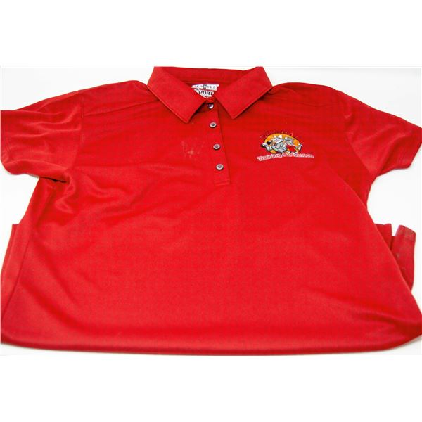 GYM RAT POLO SHIRT SIZE MED