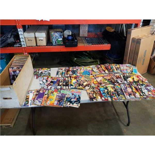 LARGE BOX OF 200+ COLLECTABLE COMICS