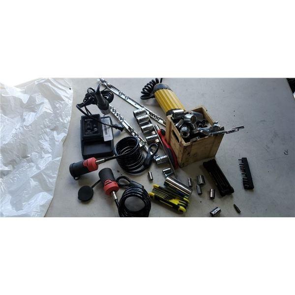 Mastercraft soldering iron,  sockets and holders