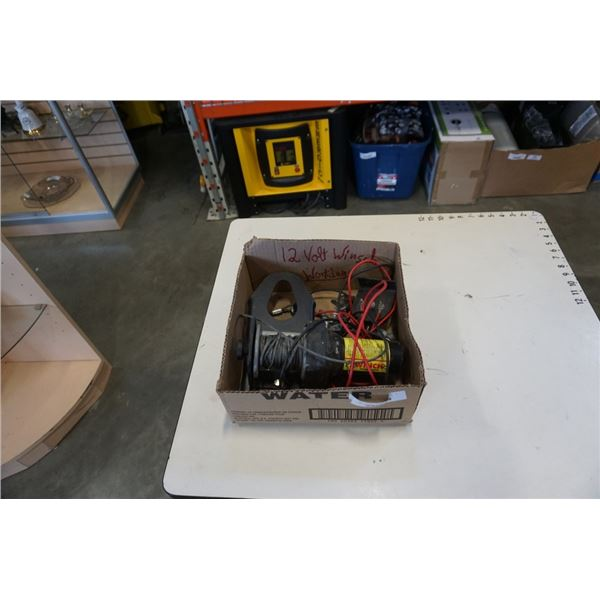 ELECTRIC WINCH - 1500LB CAPACITY